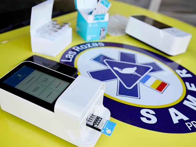 El SAMER - PC recibe nuevos equipos para la detección del COVID-19 mediante test de antígenos