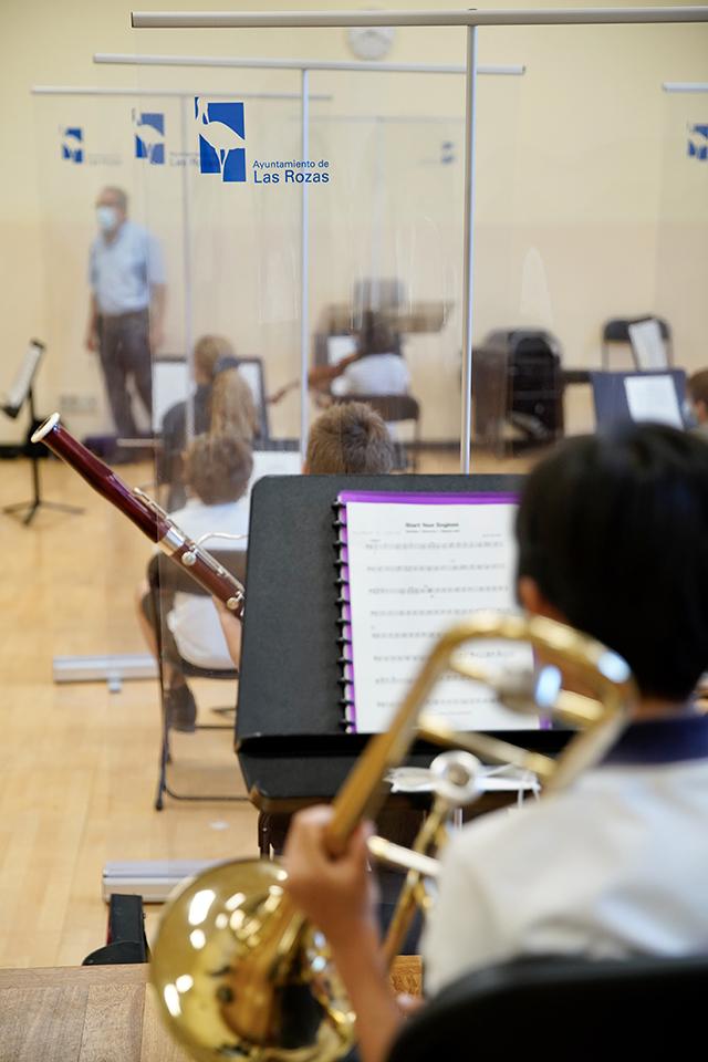 La Escuela Municipal de Música y Danza comienza sus clases con novedades frente al COVID-19