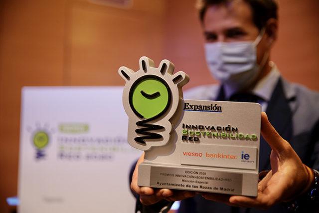 Las Rozas recibe la Mención Especial en los Premios ISR por sus políticas medioambientales sostenibles