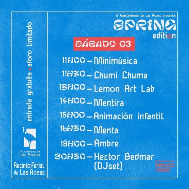 Spring Edition Las Rozas - Sabado 3 de abril del 2021