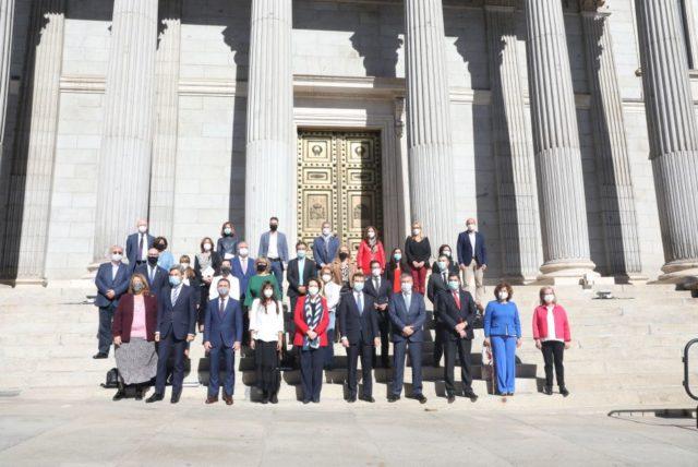 Acuerdo del Pacto de Toledo para la reforma de las pensiones con el único voto en contra de Vox