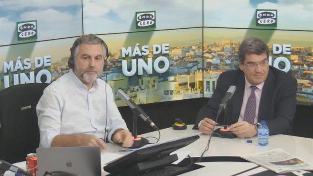 Jose Luis Escrivá y Carlos Alsina