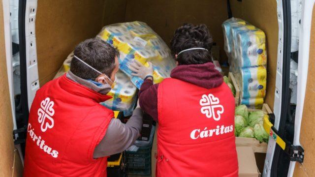 Voluntarios de Caritas